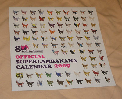 Official Superlambanana Calendar 2009