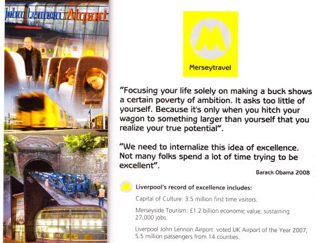 Merseytravel Advert from Rail Magazine (Issue 614)