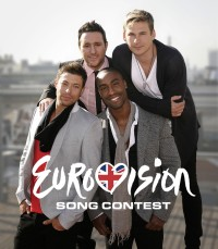 Blue promo shot for Eurovision