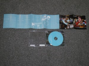 Picture of Patrick Wolf CD and sleeve notes