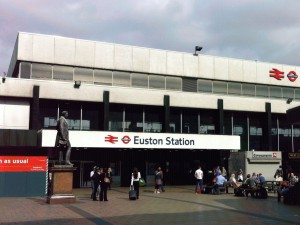 London Euston station