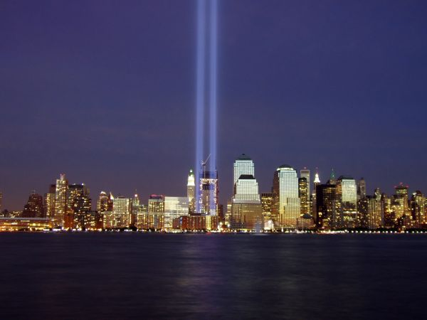 Photo of WTC Light Memorial