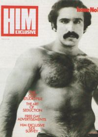 Photo of Hairy Man on Cover of Him Exclusive Magazine Issue 1
