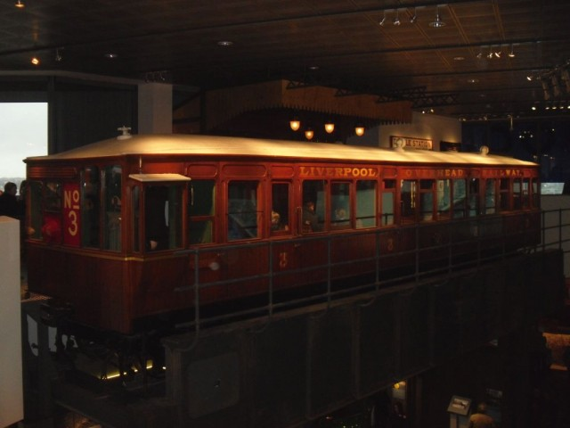 Photo of Liverpool Overhead Railway carriage