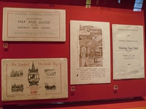 Photo of Memorabilia on Display at World Museum Liverpool