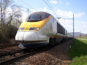 Photo of Eurostar train