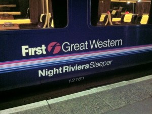 Photo of First Great Western Night Riviera Sleeper coach