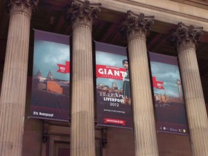 Photo of Sea Odyssey Banner at St George's Hall