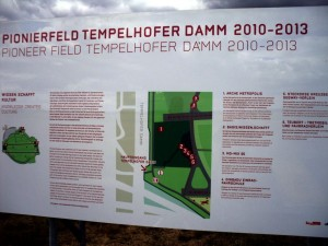 Berlin Tempelhof sign
