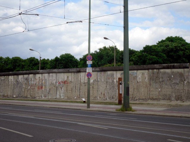 Berlin Wall on Bernauer Straße
