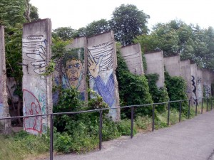 Berlin Wall remnants at Chapel of Reconciliation
