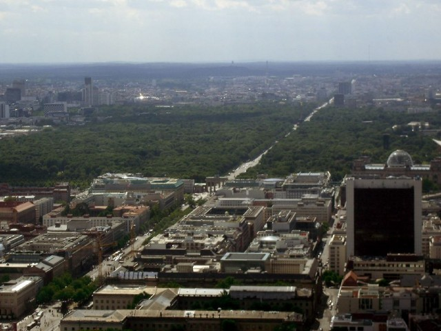 Brandenburg Gate and Tiergarten