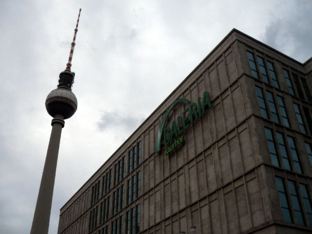 Fernsehturm and Galeria