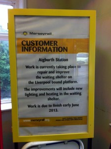Aigburth Station Customer Information