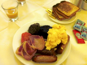 Highland Hotel Breakfast