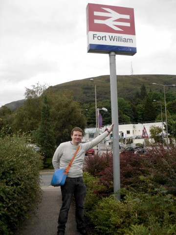 Robert at Fort William