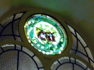 Highland Railway Stained Glass