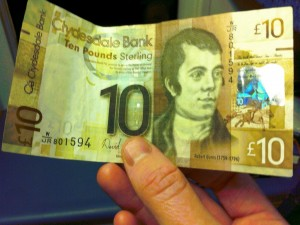 Clydesdale Bank £10