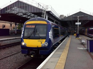 Train at Inverness