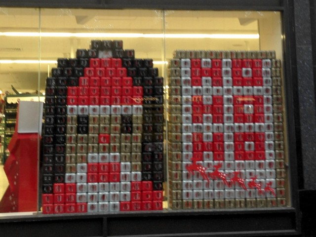 Tesco Clayton Square Coke Can Santa Ho Ho Ho