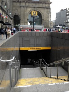 Tyne & Wear Metro Central Station Entrance