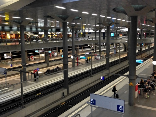 Berlin Hauptbahnhof Lower Level