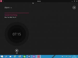 Windows 10 Alarms App