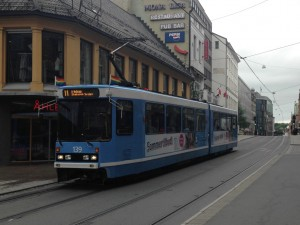 Oslo Tram on Route 11