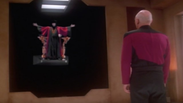Picard and Q - All Good Things
